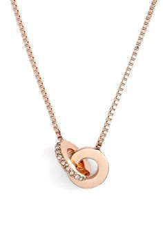 kate spade new york 'infinity' mini pendant necklace available at #Nordstrom