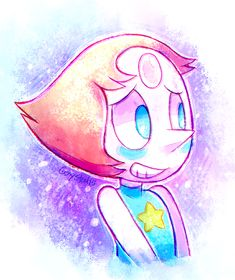 Genysart: PEARL I LUV U (´?////?`) <3 <3 I have a huge obession for pearl AND THE SHOW TOO!!! ?(???)?-Edit-OMG so many notification for my fan art of Pearl THANK YOU EVERYONE WHO LIKE MY ART !!!! <3 I