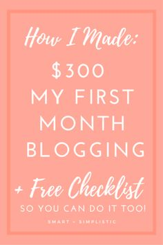 Make Money Blogging Fast : The Bloggers Who Prove that Making Quick Money with A New Blog is Possible!#make money online #blogging