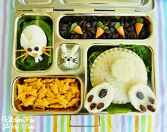 Bunny Butt Bento for a fun Easter Lunch