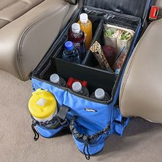 High Road Food 'n Fun Car Organizer and Snack Cooler High Road http://www.amazon.com/dp/B000HZWX2Q/ref=cm_sw_r_pi_dp_V1zkwb0R0S6R7