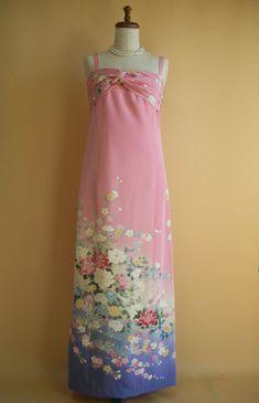 カラードレス | 着物ドレス 和ドレス 着物リメイク オーダードレス -YOKO YOSHIOKA-