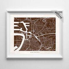 Antwerp Map Print, Belgium Print, Belgium Poster, Giclee Art Poster, Office Wall Decor, Office Art, Baby Shower Gift, Christmas Gift, Wall Art. PRICES FROM $9.95. CLICK PHOTO FOR DETAILS.#inkistprints #map #streetmap #giftforher #homedecor #nursery #wallart #walldecor #poster #print #christmas #christmasgift #weddinggift #nurserydecor #mothersdaygift #fathersdaygift #babygift #valentinesdaygift #dorm #decor #livingroom #bedroom