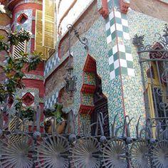 """Antoni Gaudi- """"Casa Vincens"""" - Colourful architecture"""