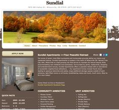 Sundial Apartments Website