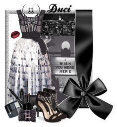 """""""I wish you were here"""" by duci ❤ liked on Polyvore featuring Dolce&Gabbana, Jessica Simpson, Swarovski, Smashbox, Isadora, Zydo and Witchery"""