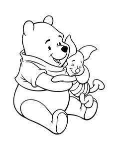 Printable Winnie The Pooh Coloring Pages And Best
