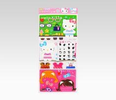 Hello Kitty Dress-Up Sticker Set: Expressive  Item #11534  NEW  $4.75