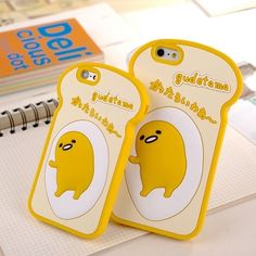 Gudetama bread iphone case (6/6-plus)