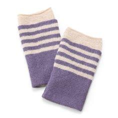 【ハンドウォーマーTubular+ラヴァンド】保温性が抜群!鮮やかな色合いのボーダー柄。スタイルストア Socks, Fashion, Hosiery, Moda, Fasion, Sock, Stockings