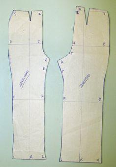 ... Patrones sobre cómo hacer el patrón, confeccioné el patrón de mi