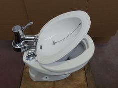 Combinato Wc-Bidet.  Why do Americans not understand wiping poop off with toilet paper is disgusting?!? If you got $hit on your foot would u you tp to clean it off... Umm, I hope not.