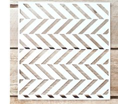 Classic Herringbone Reusable Laser Cut Painting Stencil by TwoBerryCreative on Etsy https://www.etsy.com/listing/274590526/classic-herringbone-reusable-laser-cut