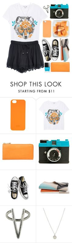 """Foxy"" by child-of-the-tropics ❤ liked on Polyvore featuring C6, Monki, Smythson, Lomography, SPT, Victoria's Secret, Judy White Studio, The 2 Bandits, Dogeared and Butter London"