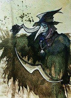 """bloodborne: eileen the crow"" | christina logan"