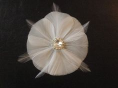 If you've been searching high and low for a delicate feather fascinator for your wedding that doesn't break your budget, stop your search! Because Tribe member Lovelylady has the perfec…