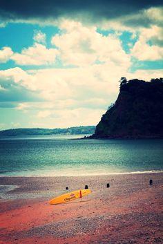 Teignmouth Devon UK Coast