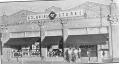Colonial Store Downtown Douglasville Sweetwater Park, Douglasville Georgia, Lithia Springs, Rio Vista, Loft Office, Douglas County, Co Working, Park Hotel, Vintage Postcards