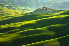 """House on the hill"" by Marcin Sobas, via 500px."