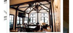Engineered Hardwood Flooring, Hardwood Floors, Oak Flooring, White Oak Floors, Beams, Living Spaces, Scotch, Cigar, Furniture