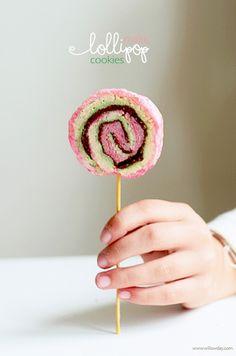 Make Lollipop Cookies | willowday