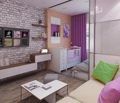 как в однокомнатной сделать зал спальню и детскую план: 3 тыс изображений найдено в Яндекс.Картинках