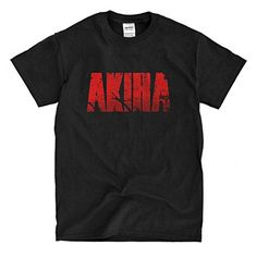 Akira black T-Shirt (l). BEWARE of fake sellers. Real product sold exclusively by Tiki Tees. Lightning fast shipping. High quality, printed in USA. Pick Tiki Tees in Other Sellers on Amazon on the right side of your screen.