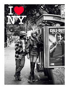 "... NY"" : Natasha Poly : Vogue Paris February 2013 : Terry Richardson"
