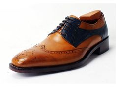 2-Tone Custom Patinas... paints the shoes whatever color the customer desires.