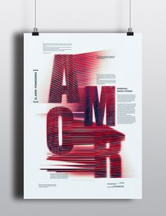 // AMOR // Posters on Behance