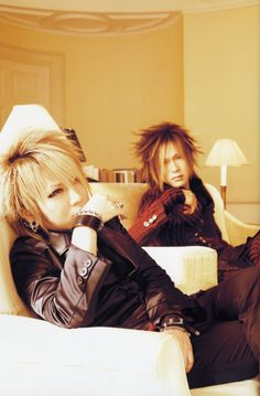 Image detail for -Ruki and Uruha - The Gazette Photo (20645754) - Fanpop fanclubs