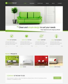 This interior design and furniture WordPress theme has a responsive layout, a premium slider, HTML5 and CSS3 code, unlimited colors, SEO optimization, 500+ Google Fonts, a contact form, lots of shortcodes, and more.