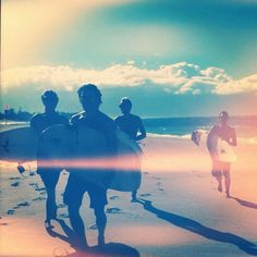 {Surfing - part of a typical week for LIAM and an AMAZING workout!}