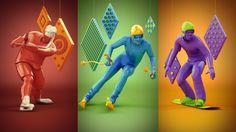 Rostelecom Olympic Promosite by Alex Mikhaylov, via Behance
