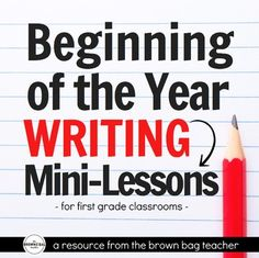 Beginning writers need daily, explicit writing instruction for this to happen with chances to write every. This teacher has AWESOME ideas for scaffolding beginning writers, perfect for Writer's Workshop or Work on Writing! Writing Mini Lessons, Writing Lab, 1st Grade Writing, Second Grade Teacher, Work On Writing, First Grade Classroom, Writing Workshop, Kids Writing, Teaching Writing