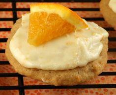 Weight Watchers Iced Orange Cookies