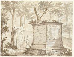 Arnoud van Halen   Graftombe van Johan Maurits van Nassau-Siegen te Kleef, Arnoud van Halen, 1710 - 1730  