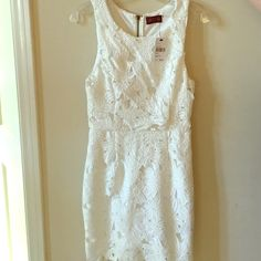 ASTR white lace dress Brand new with tags ASTR Dresses