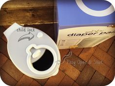UBBI Diaper Pail and 3-in-1 Potty