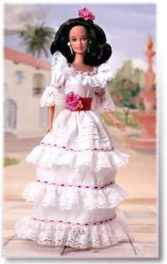 Puerto Rican Barbie  (This is a very pretty doll) I have her!