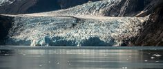Up close on a small boat is this glacier near Whittier and Seward in Alaska. Whittier Alaska, The Sky Is Falling, Small Boats, Wildlife, Mountains, Landscape, Night, Travel, Outdoor