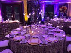 #Wedding reception | #OakManagement Wedding Reception, Wedding Ideas, Glen Oaks, Wedding Decorations, Table Decorations, English Style, Receptions, Banquet, Table Settings