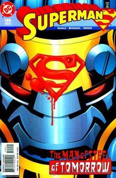 SUPERMAN #199 DC comics cover man of steel