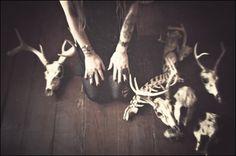 Bloodmilk jewelry  | macabre | surreal | occult | goth | editorial | dark fashion | bones | taxidermy | skulls