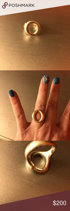 Tiffany & co O ring size 7 Size 7. Great condition.  Sterling silver. Tiffany & Co. Jewelry Rings