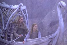 Guardians of Lothlorien - sitting is Thandronen