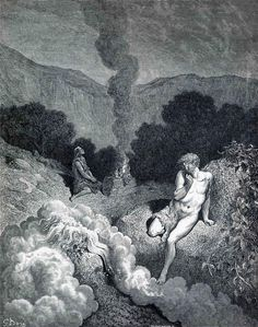 Cain and Abel Offering their Sacrifices - Gustave Dore