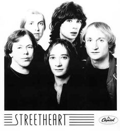 """Streetheart is a Canadian rock band, from Winnipeg, Manitoba that got its start in Regina, Saskatchewan. Their best known songs include """"Action"""", """"Hollywood"""". Kenny G, 80s Pop, We Meet Again, Group Photos, Great Bands, Soundtrack, Music Artists, Rock Bands, My Life"""