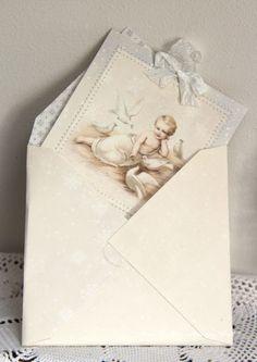 Anne's paper fun: Envelope & Card