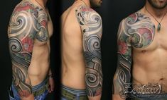 japanese-laced-sleeve-tatto